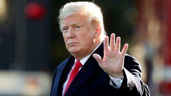 trump rechaza levantar sanciones economicas a iran