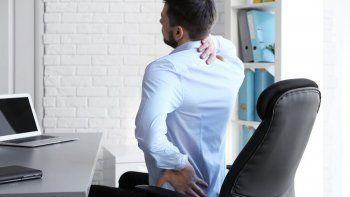 el estres en el trabajo te acerca a una lumbalgia cronica