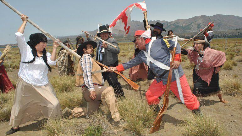La batalla final por la Independencia en Epulauquen tendrá su película
