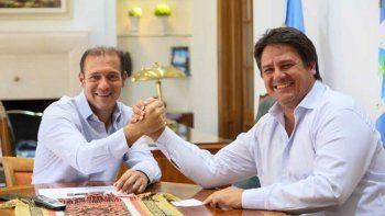 gutierrez confirmo junto a gaido que el contrato entre la muni y el epas se firmara el viernes