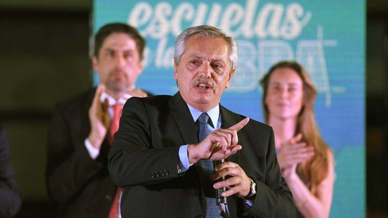 Alberto cruzó a Macri y lo criticó por sus dichos