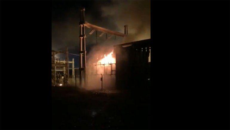 Explotó un transformador en la central térmica de Capex