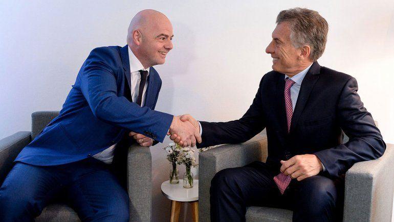 Macri fue designado como presidente de la Fundación FIFA