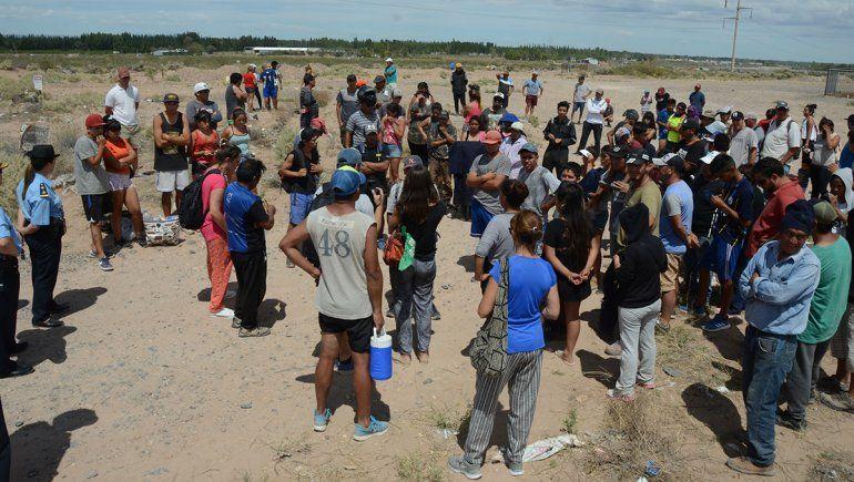 Detuvieron a Armando López por instigar la toma de terrenos en la Bajada de Maida