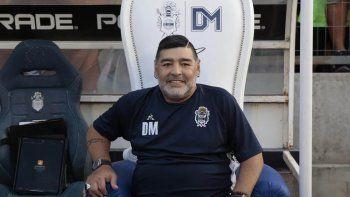 El sillón de Maradona
