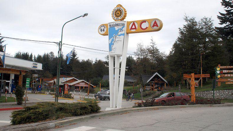 Sin camiones por el centro de Villa La Angostura