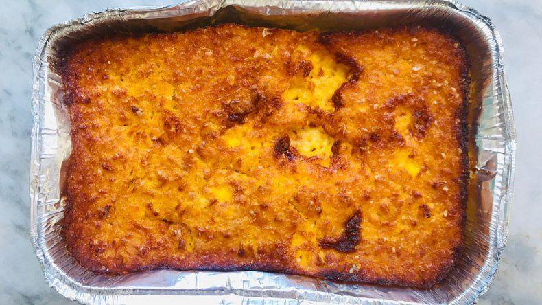Cocina: el mejor Chipa Guazú se hace en Neuquén