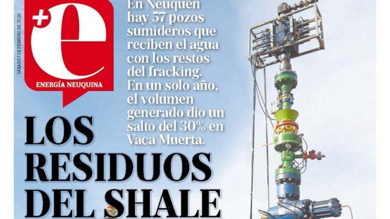 Los residuos del shale