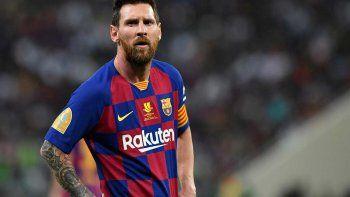 El malestar de Messi con la dirigencia es un hecho.