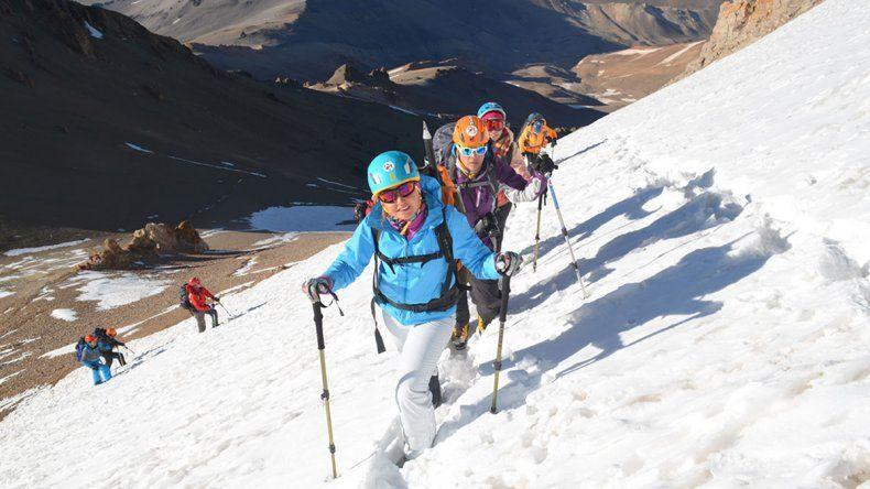 Ascenso al Volcán Domuyo.