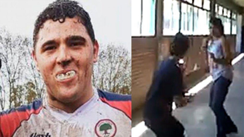 Lucas Pertossi es el rugbier que filmó el ataque de Báez Sosa y que arengó una pelea en el colegio que asistía.