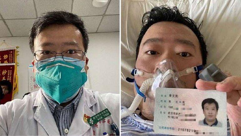 Coronavirus: murió el primer médico chino que advirtió sobre el brote