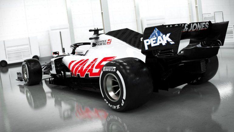 Haas se adelanta y presenta las primeras imágenes del nuevo VF-20