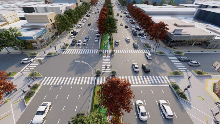 La Ruta 22 urbana en un futuro se convertirá en la avenida Vaca Muerta