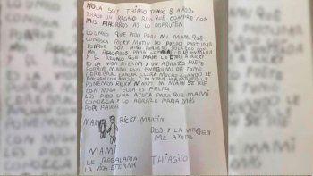Carta a su Mamá