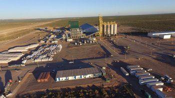 petroleros privados paralizo la planta de arena de ypf