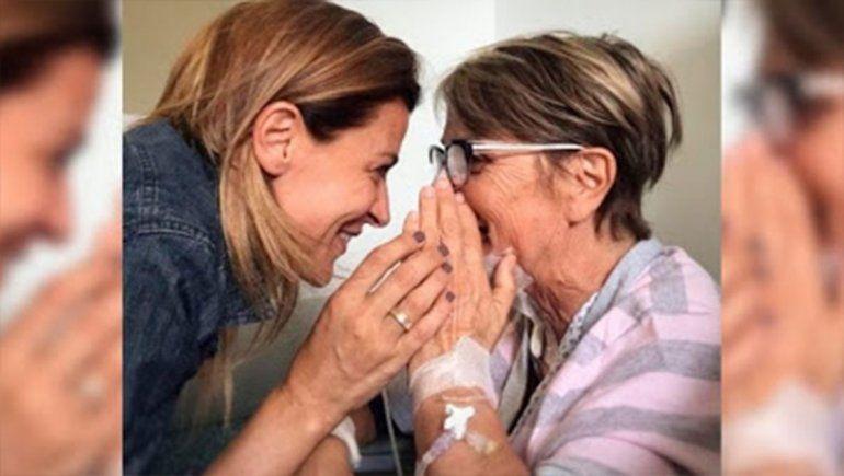 Una de las emotivas fotos que compartió Eugenia Tobal junto a su madre en su cuenta de Instagram.