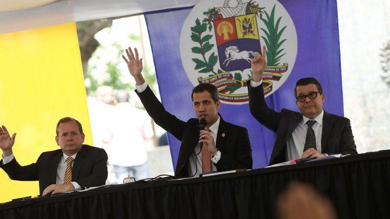 Guaidó: Maduro es un cobarde que no sale a pisar la calle