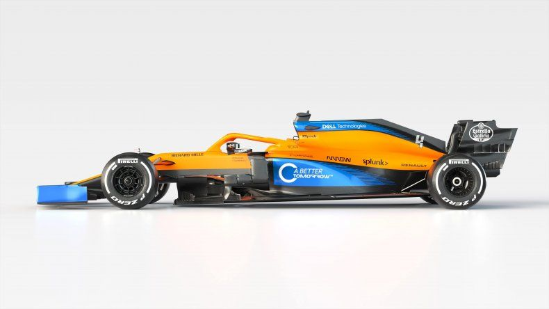 McLaren estará en la Fórmula 1 con el MCL35