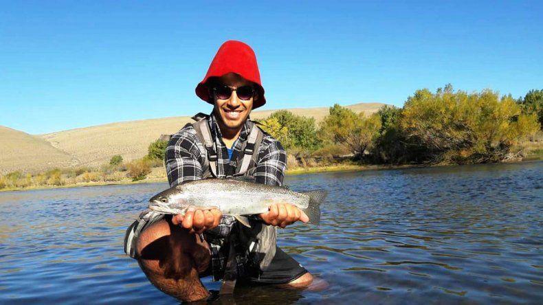 Torneo de pesca en las aguas del Río Agrio