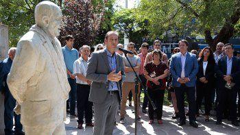 gutierrez en el homenaje a sapag: nos dejo un legado que avanza