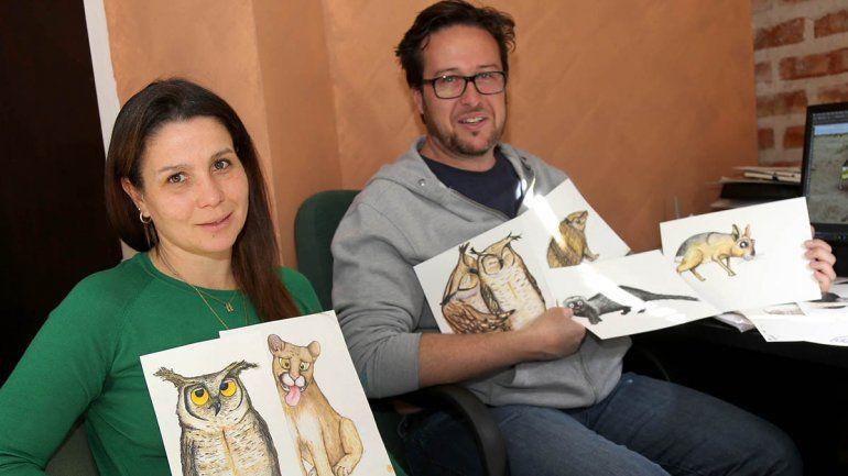 Neuquinos realizan un libro de fauna argentina
