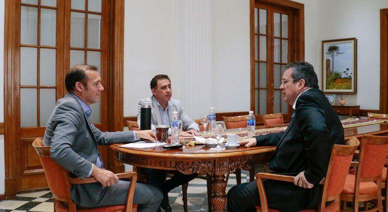 Gutiérrez se reunió con el ministro de Cultura de Nación