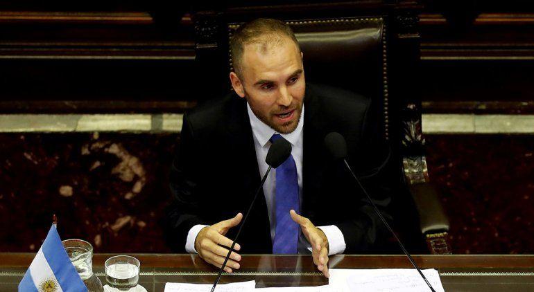 Los acreedores se plantaron ante  Martín Guzmán