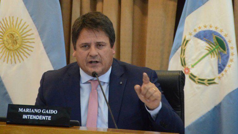 Gaido criticó la gestión de Pechi: Recibimos una ciudad con déficit