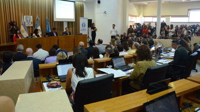 El gobierno provincial respaldó el discurso de Gaido y aseguró que trabajarán en conjunto