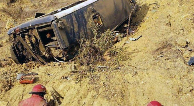 Perú: ocho hinchas del Barcelona de Guayaquil murieron en un accidente
