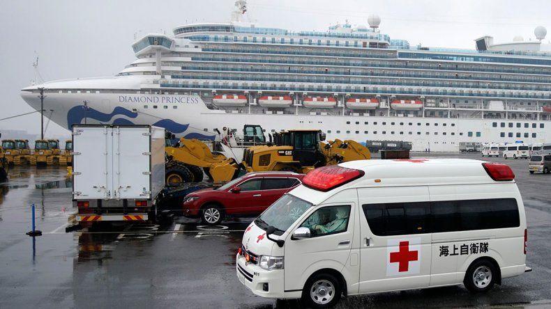 Coronavirus: más casos en el crucero japonés