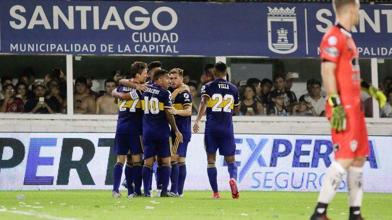 De la mano del Apache, Boca goleó 4 a 0 a Central Córdoba