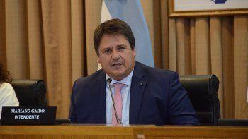gaido anunciara medidas el lunes y habra sesion del deliberante