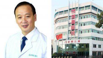 coronavirus: murio el director hospitalario de wuhan por el brote