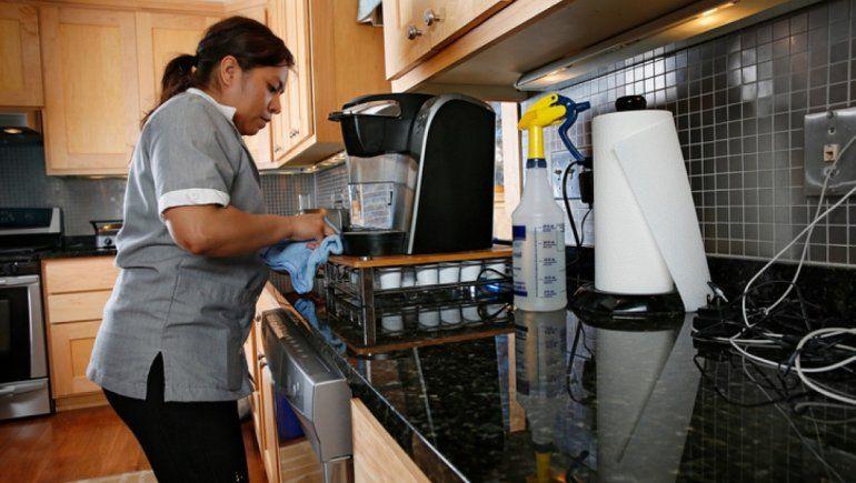 Sindicato de Personal Doméstico: Van a tener que pagar los días