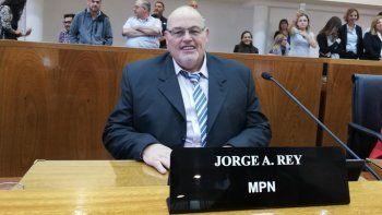 El concejal Jorge Rey asumió en el Deliberante.