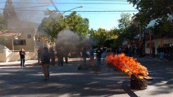 El reclamo de los trabajadores de EPAS se realiza en Belgrano y Santiago del Estero