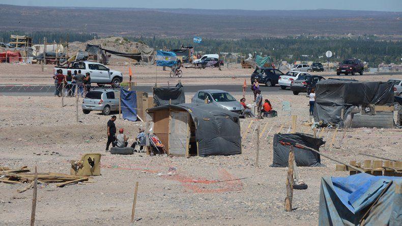 Ocupantes de la toma piden la intervención de Nación