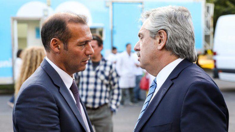 Omar Gutiérrez se reunió con Alberto por el plan Remediar