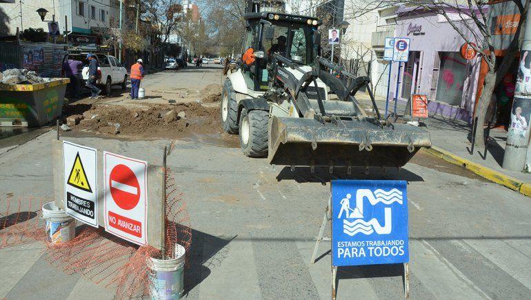 EPAS: la ciudad se hará cargo de las obras de agua y cloacas