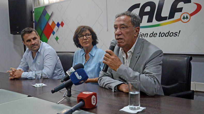 Ciapponi dijo que CALF genera deuda por la falta de recaudación