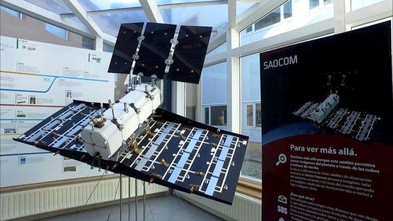 El satélite argentino viajó rumbo a Estados Unidos