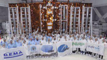 el satelite argentino viajo rumbo a estados unidos