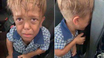 un nene, victima del bullying, pidio una soga para matarse