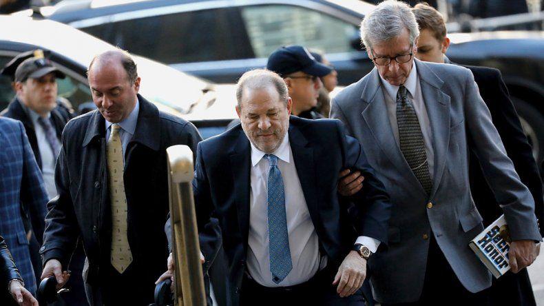 Weinstein fue hallado culpable de abuso sexual y violación