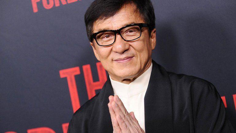 ¿Jackie Chan en cuarentena por el coronavirus?
