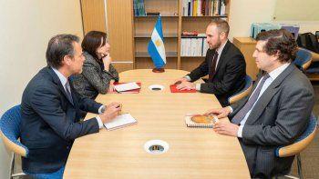 martin guzman en la sede del fmi: es un momento critico