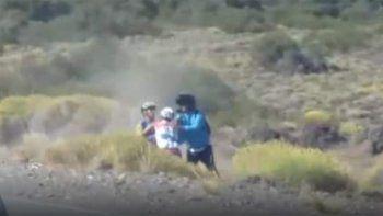 asi fue la feroz y triste pelea entre los dos ciclistas neuquinos en junin de los andes