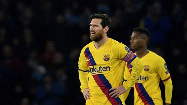 Barcelona le reducirá el sueldo a Messi por el coronavirus